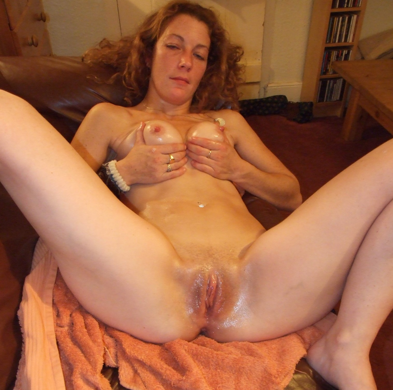 My ex wife creaming on my bbc